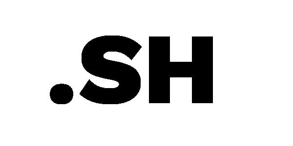 sh domain logo