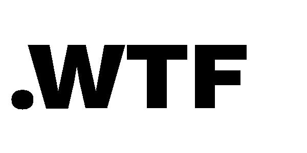 wtf domain logo