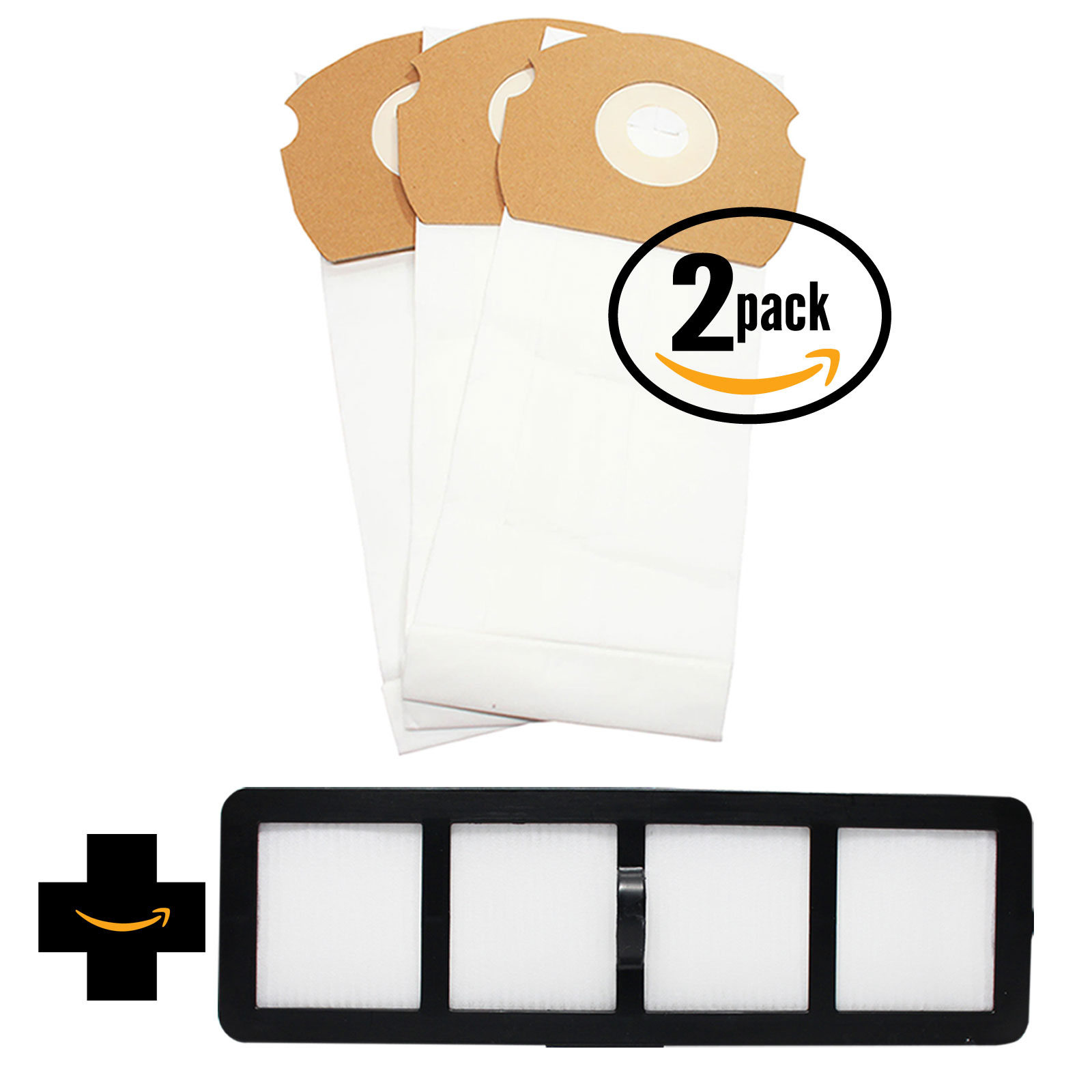 3 Vacuum Bags /& 1 Filter /& 1 Filter for Eureka AS1000A AirSpeed Gold AS1001A A