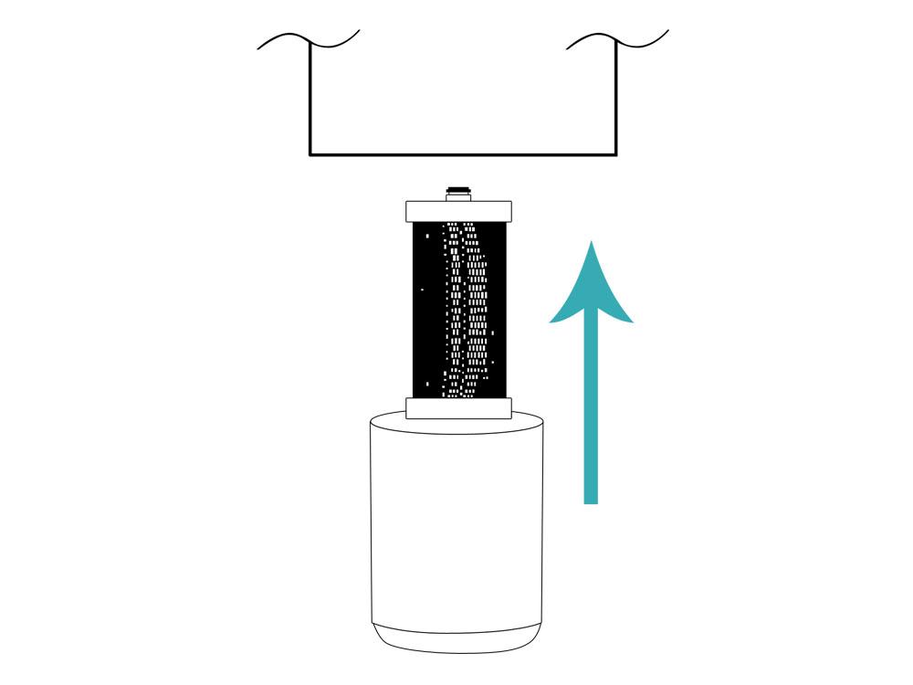 2X Refrigerator Water Filter for Frigidaire FRS6HR5JB4