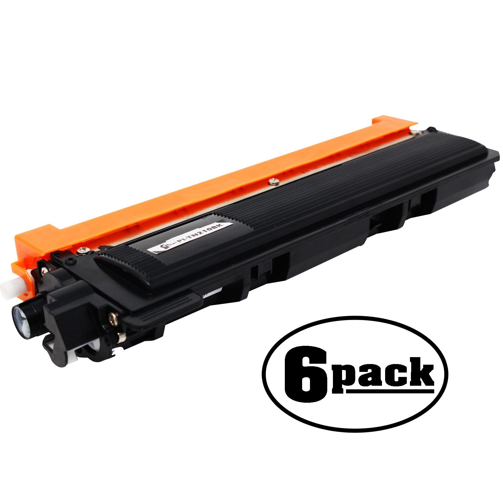3 Pack BLACK Toner For Brother TN210Bk Brother MFC-9010CN MFC-9120CN MFC-9320CW