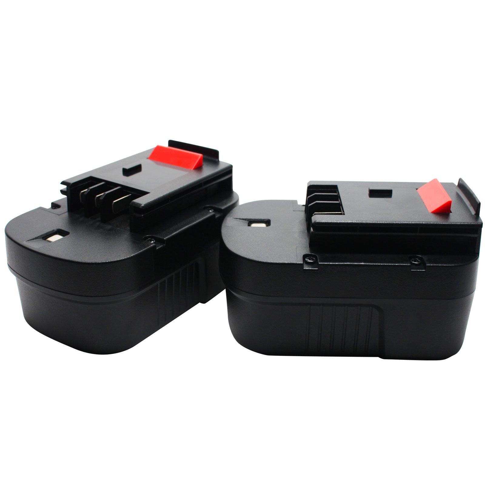 HP146F3B 1500mAh 14.4V NiMH Akku für Black /& Decker HP146F2 HP146F2B