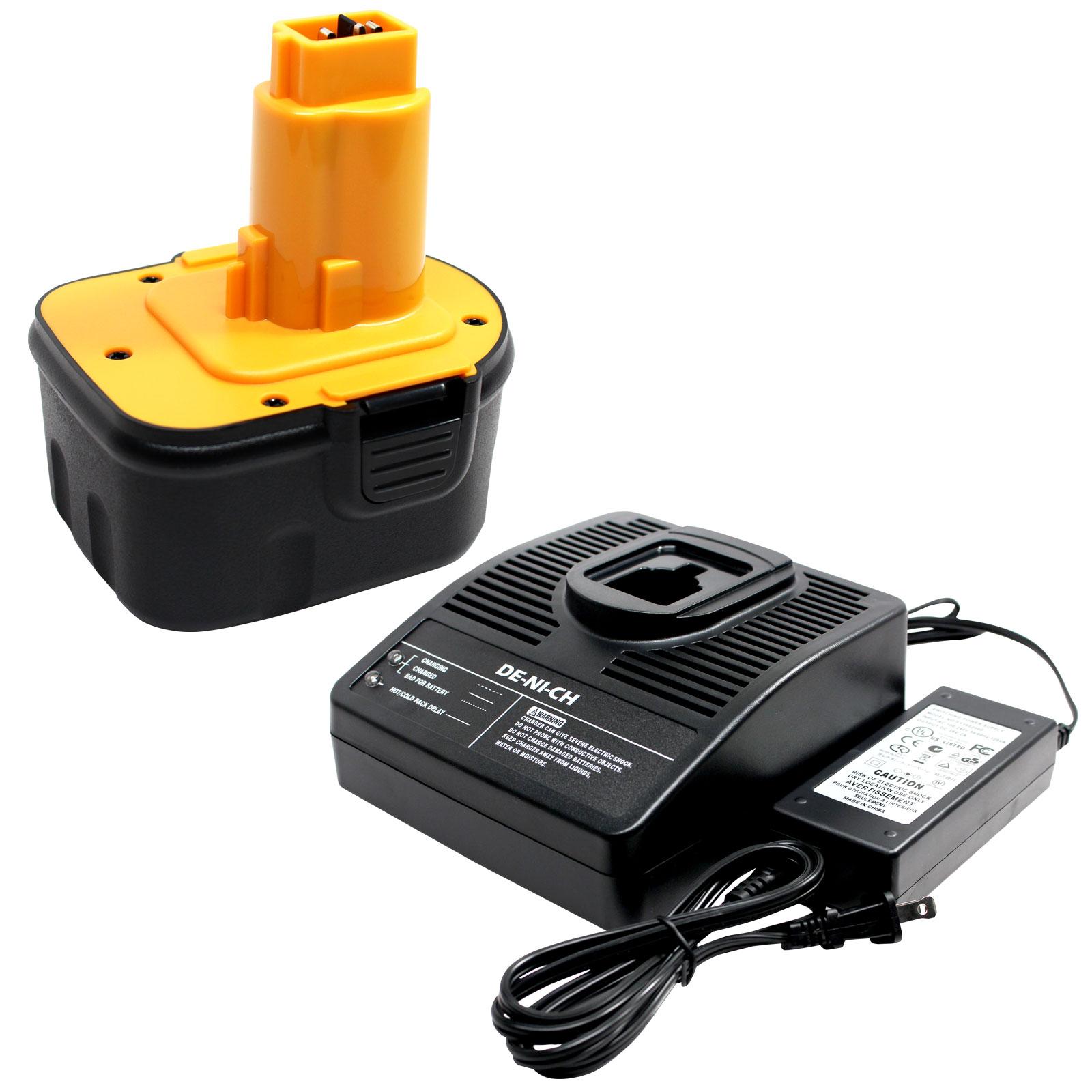 Chargeur de batterie 1,2v-18v Ni-Cd Ni-MH pour DEWALT de9072 de9074 de9075 de9274