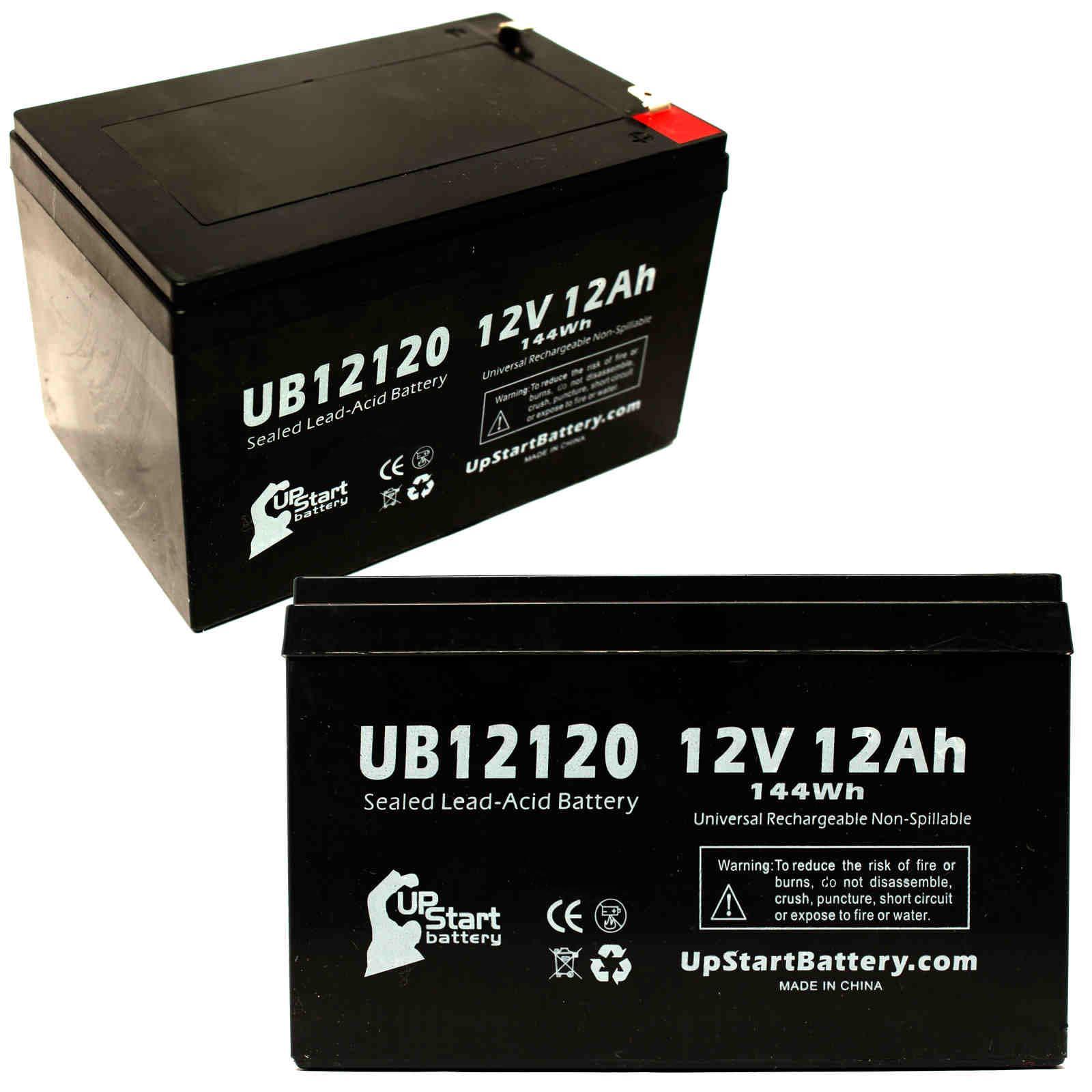 [SCHEMATICS_4JK]  2-pack Apc rbc32 33 Battery UB12120 12V 12Ah Sealed Lead Acid SLA AGM | eBay | Apc Rbc32 Battery Wiring Diagram |  | eBay