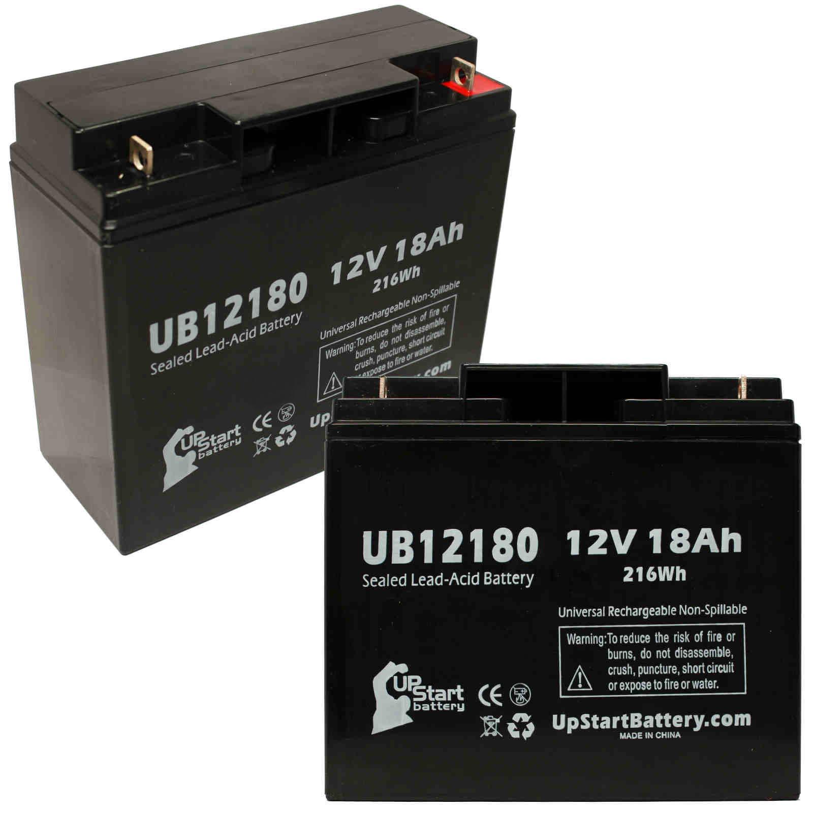 12v 18ah Battery >> Details About 2 Pack Apc Rbc7 1000 Battery Ub12180 12v 18ah Sealed Lead Acid Sla Agm