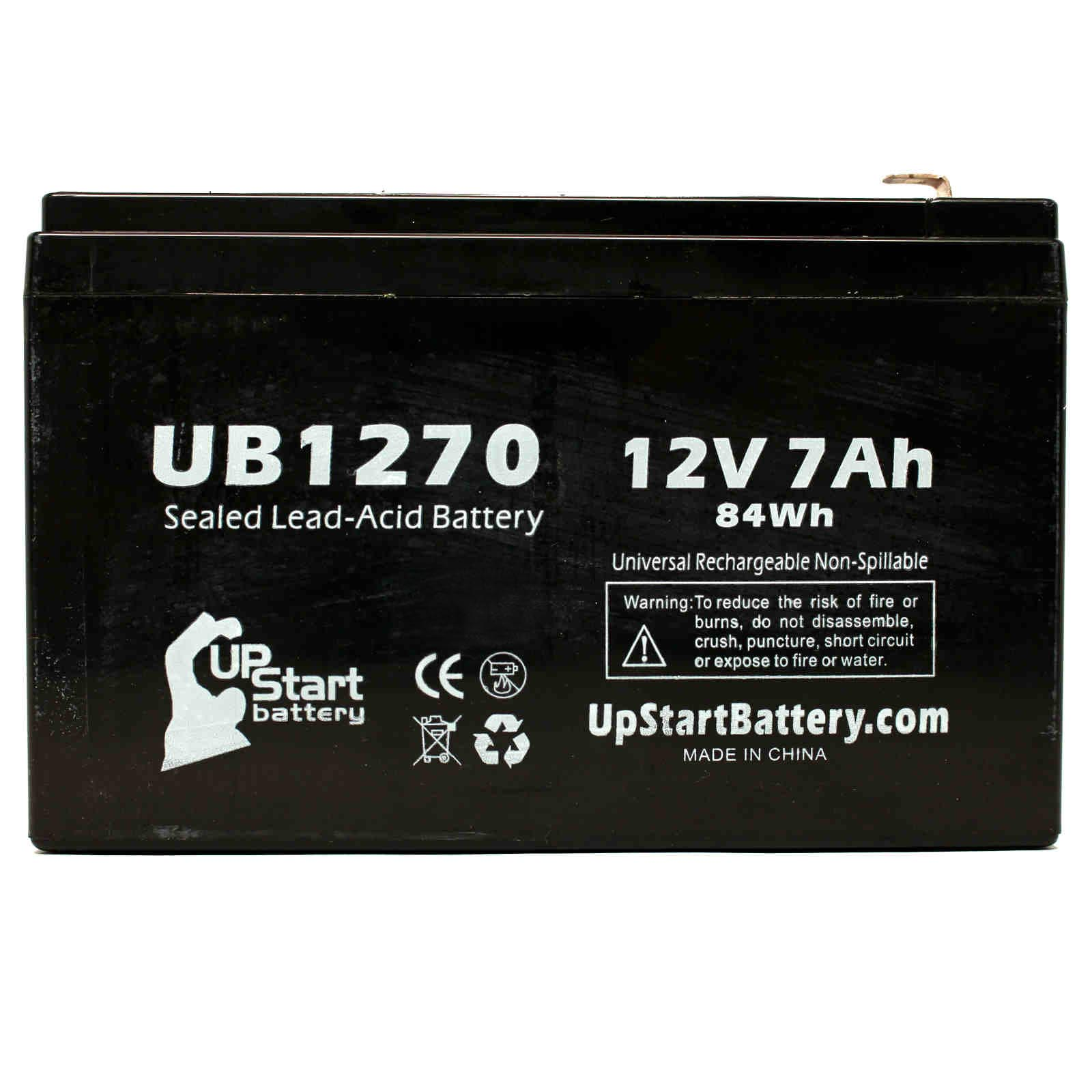 Mighty Max Battery 12V 7Ah SLA Battery Replacement for APC SU700RM2U 8 Pack Brand Product