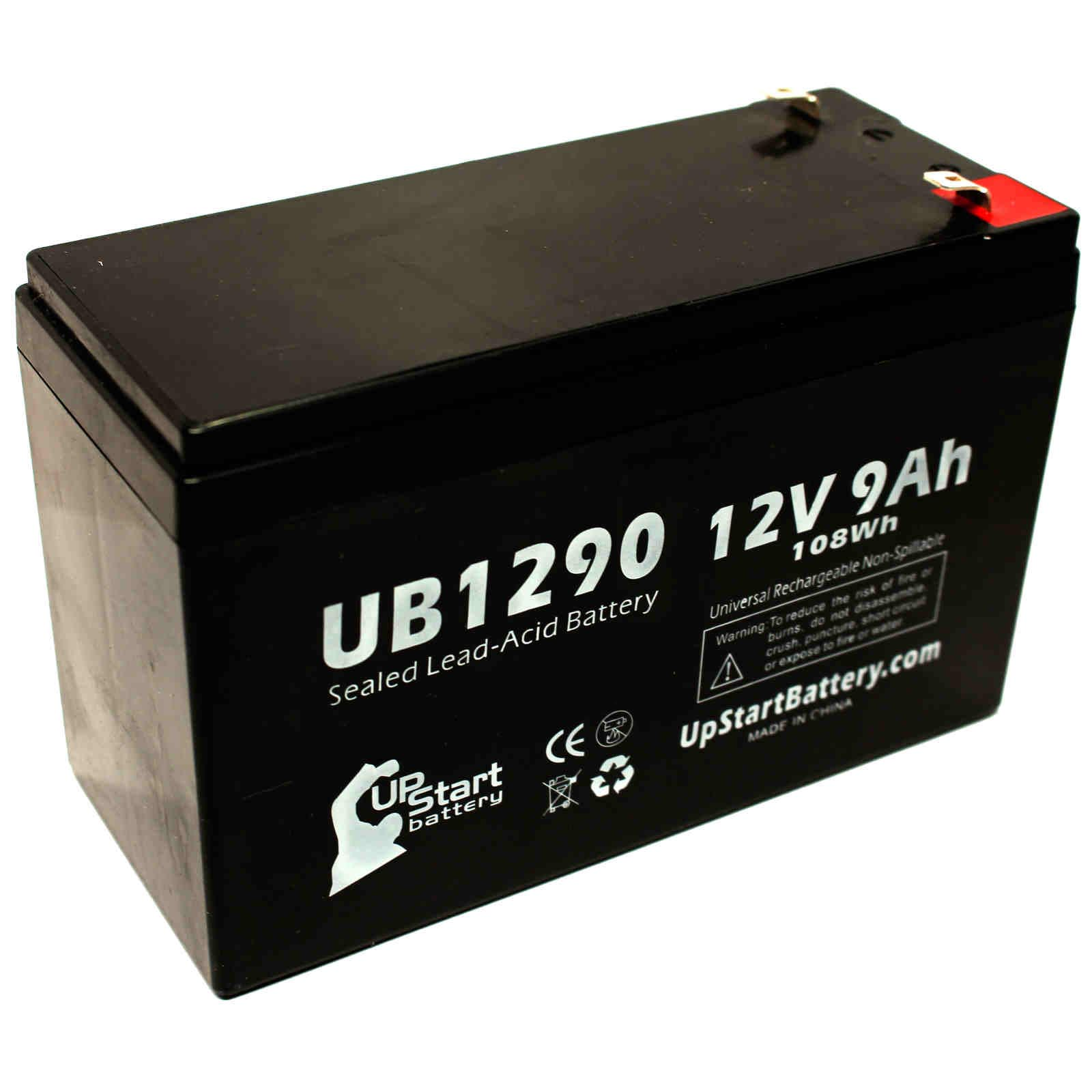 Mighty Max Battery 12V 9Ah Battery Replaces Clary Corporation UPS1125K1GSBSR 6 Pack Brand Product