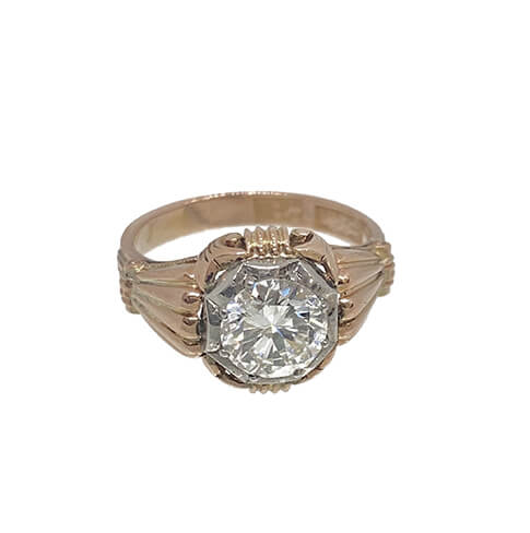 Antique Rose Gold Ring 485x488 2
