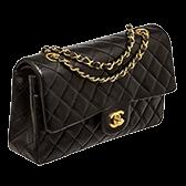 Handbags Chanel Medium Classic Flap Lambskin 168x168 1