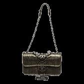 Handbags Chanel Metallic Python Green 168x168 1
