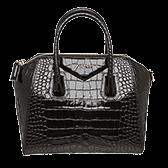 Handbags Givenchy Black Croc 168x168 1