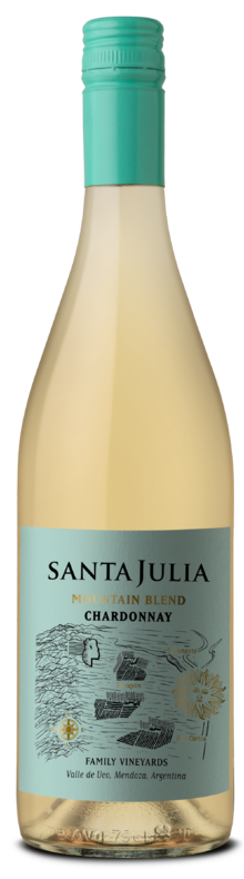 Santa Julia Mountain Blend Chardonnay 2019