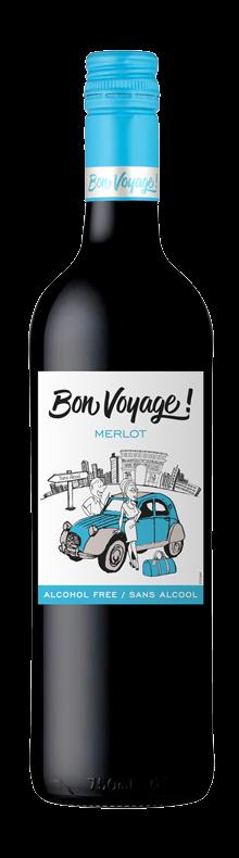 Bon Voyage Merlot sans alcool