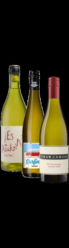 Caisse Panachée Trio Chardonnay (6 bouteilles)