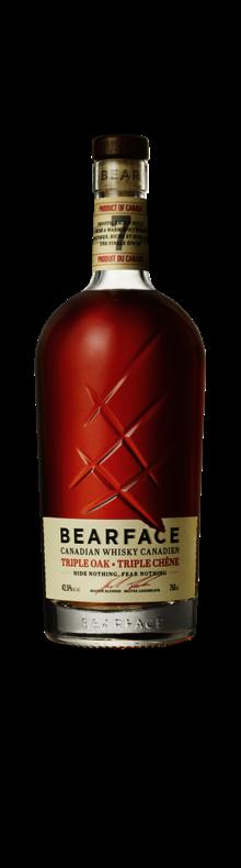 Bearface 7YO Triple Oak Canadian Whisky