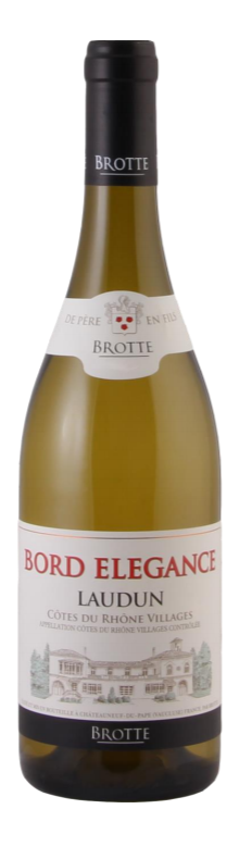 Brotte - Bord Élégance Laudun Côtes du Rhône Village - 2017