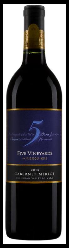 Five Vineyard Cabernet Merlot 2017