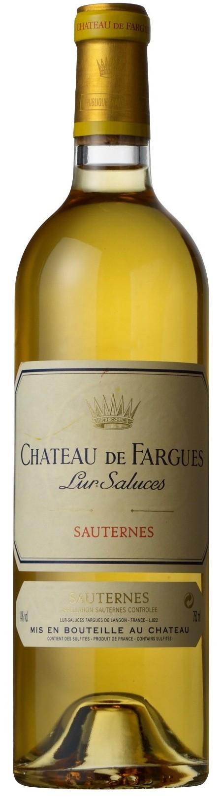 Château de Fargues Sauternes 2003