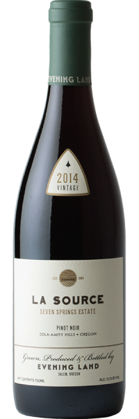 Pinot noir La Source Seven Springs Vineyard 2014
