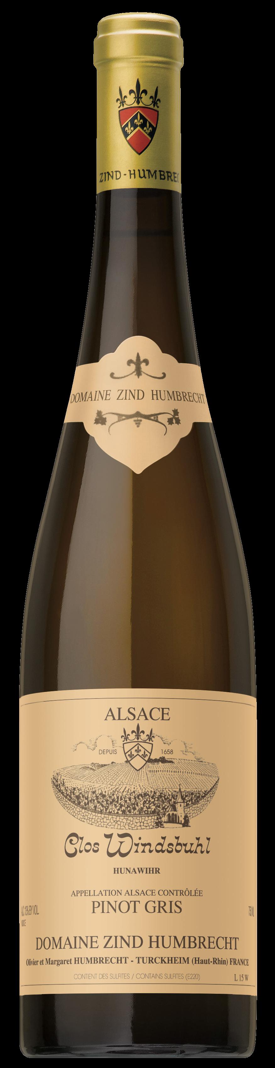 Pinot gris Clos Windsbuhl 2015