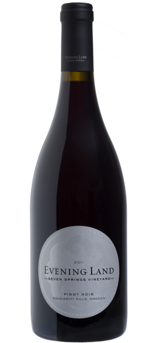 Pinot noir Seven Springs Vineyard 2013