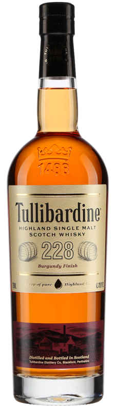 228 Burgundy Finish Highland Single Malt