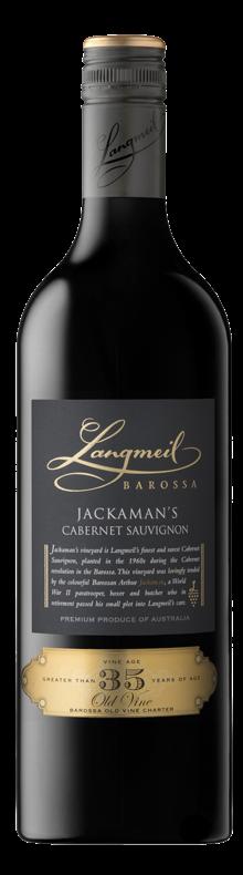 Jackaman's Cabernet Sauvignon 2016