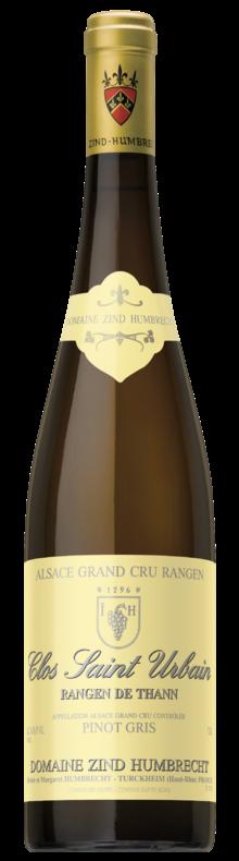 Pinot Gris Alsace Grand Cru Rangen de Thann Clos Saint-Urbain (mix 2010/2012)
