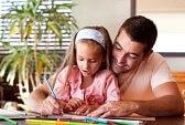 aider sa fille pour les devoirs