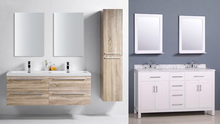 Vanités salle de bain 50%, robinets 60%   lesventes.ca