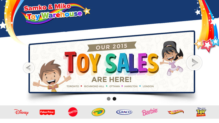421f9e4d Samko & Miko toy and book warehouse sale will be held in Etobicoke and  Richmond Hill, September 19 to December 24. Thousands of brand name toys,  books, ...