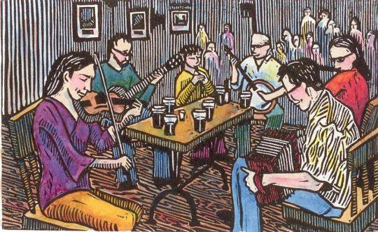 Folk Night Trad Session hosted by Rob Brown and Michelle Brophy