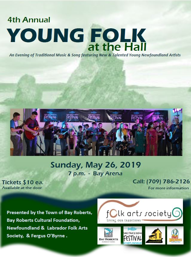 Young Folk at the Hall – Bay Roberts