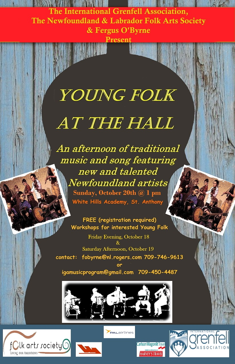 Young Folk at the Hall – St. Anthony