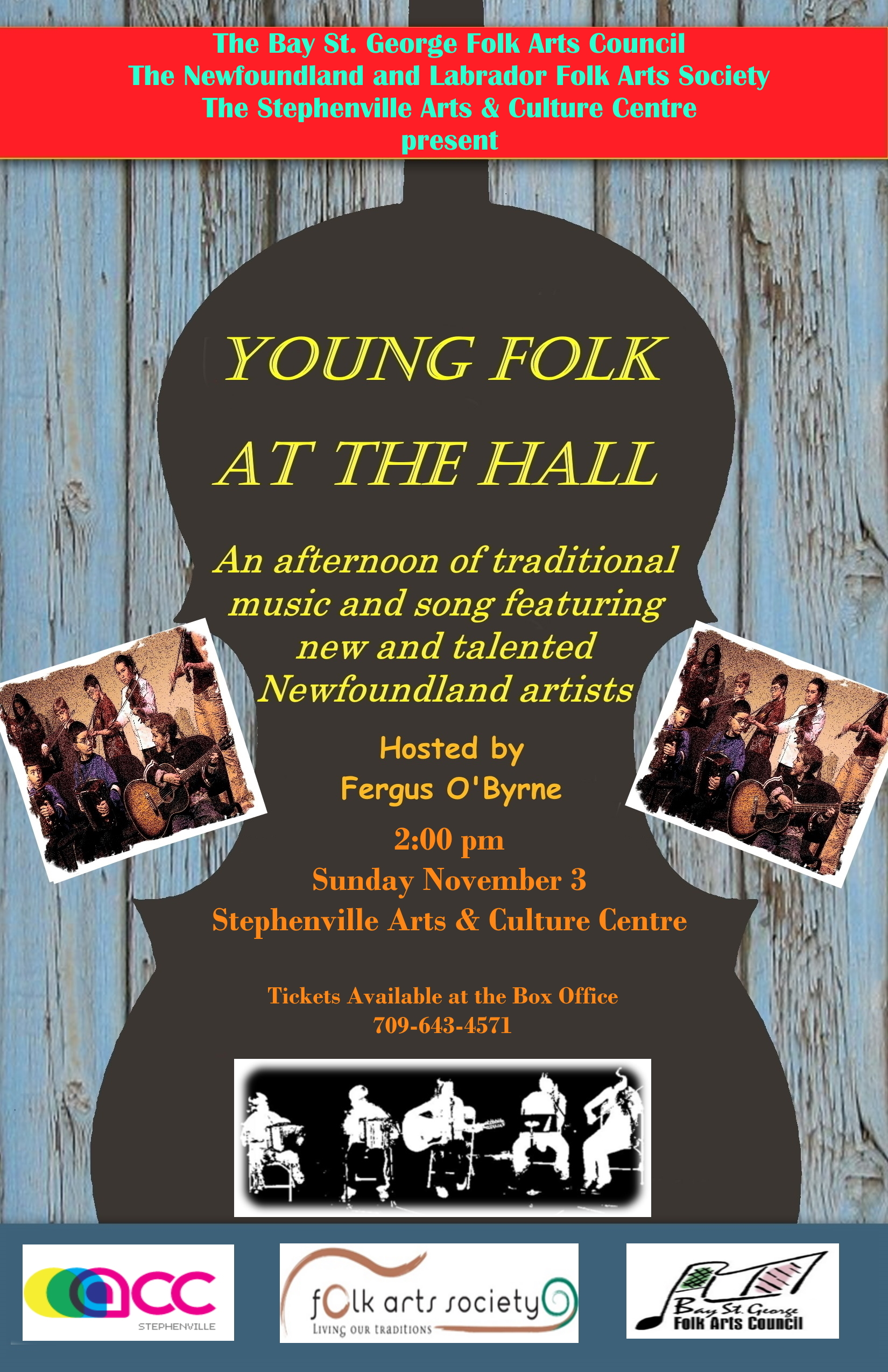 Young Folk at the Hall – Stephenville