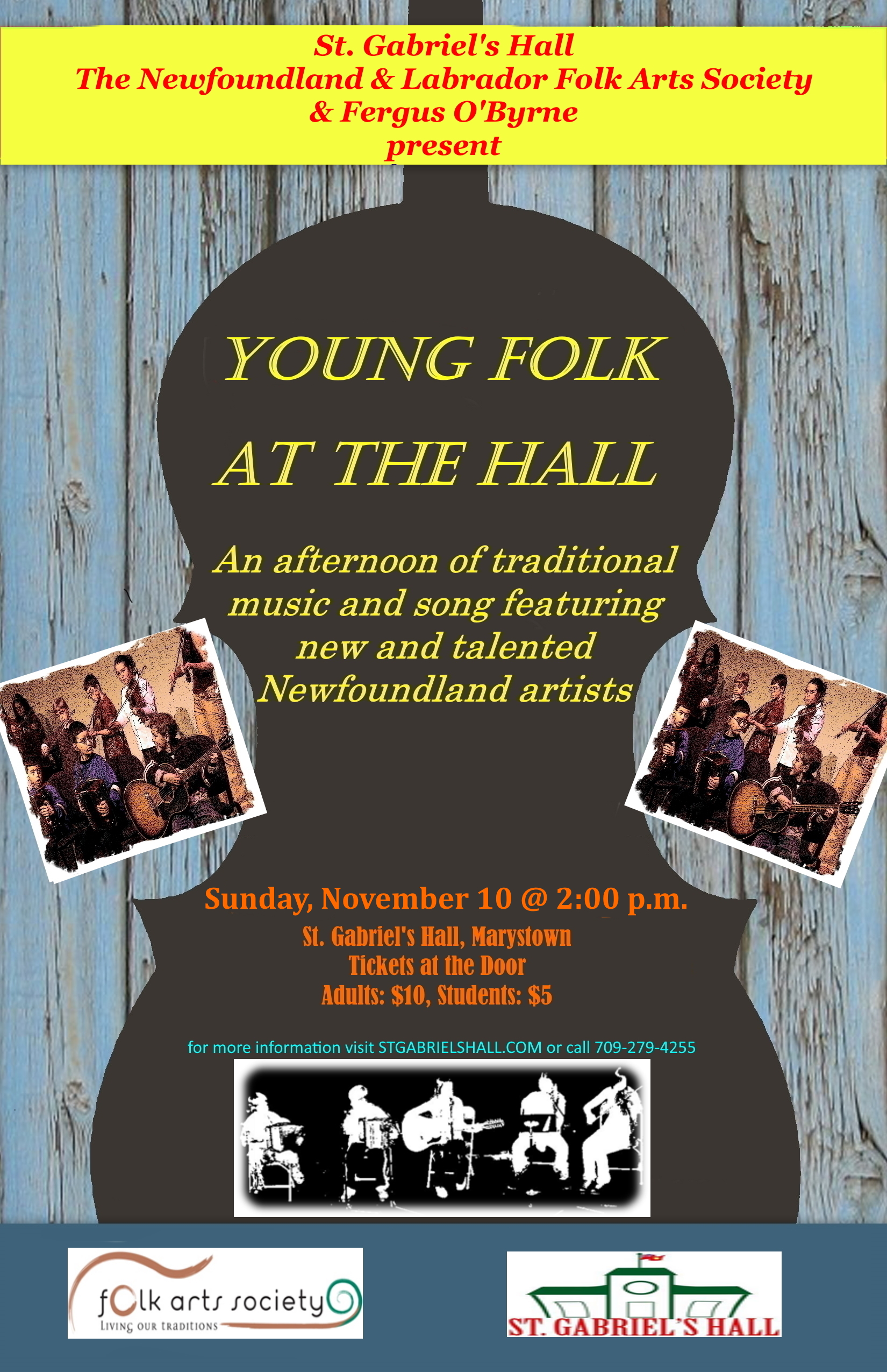 Young Folk at the Hall – Marystown