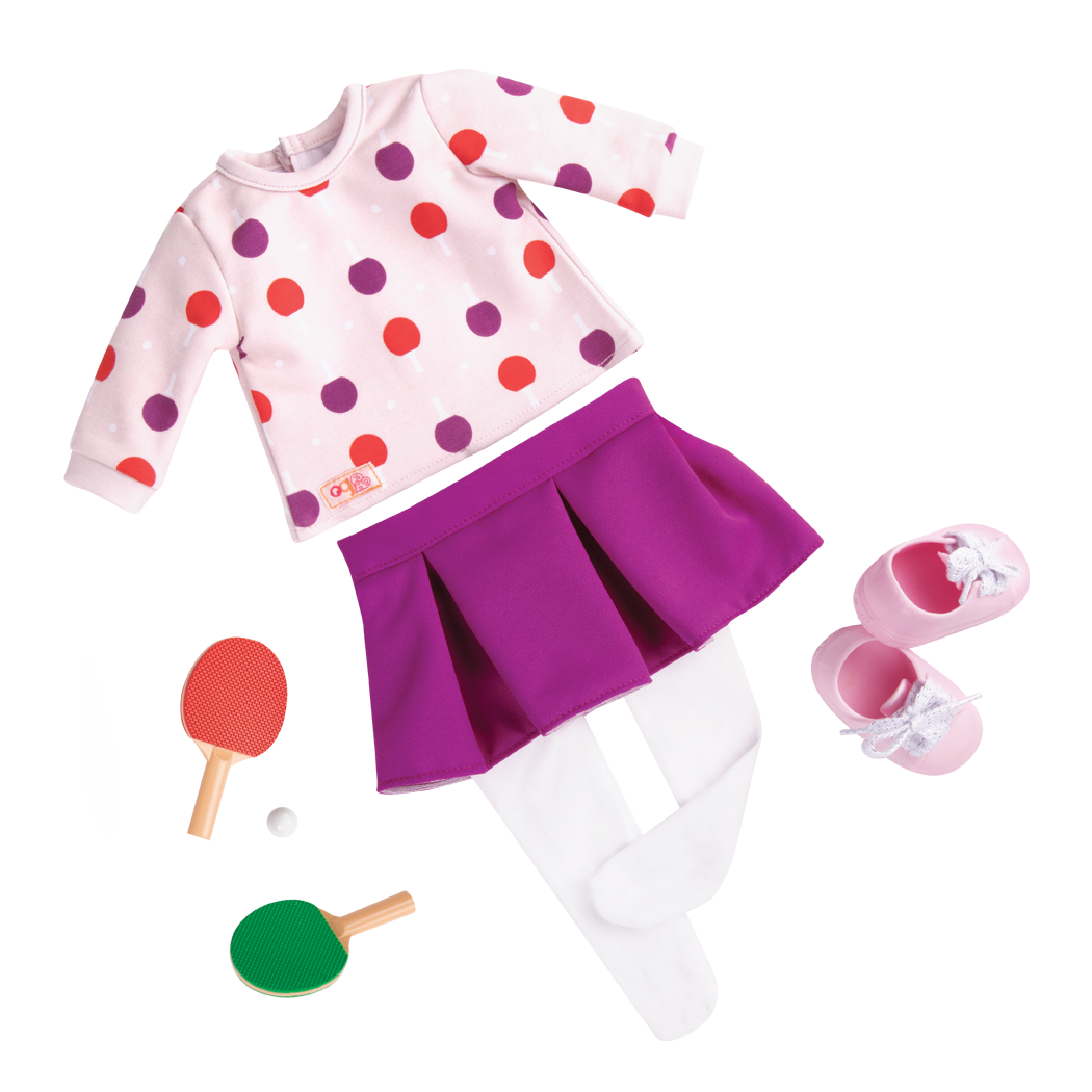Ping Pong Pro Outfit Coral