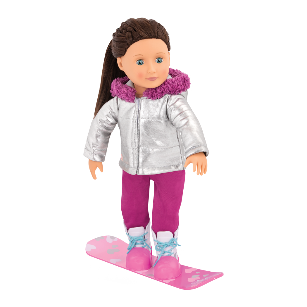 Chill on the Hill Snowboard Outfit Willow