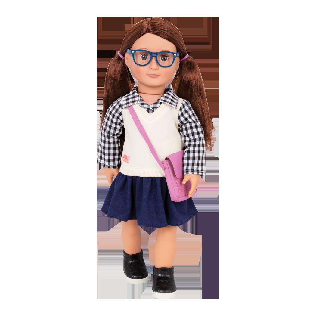 Adria 18-inch School Doll