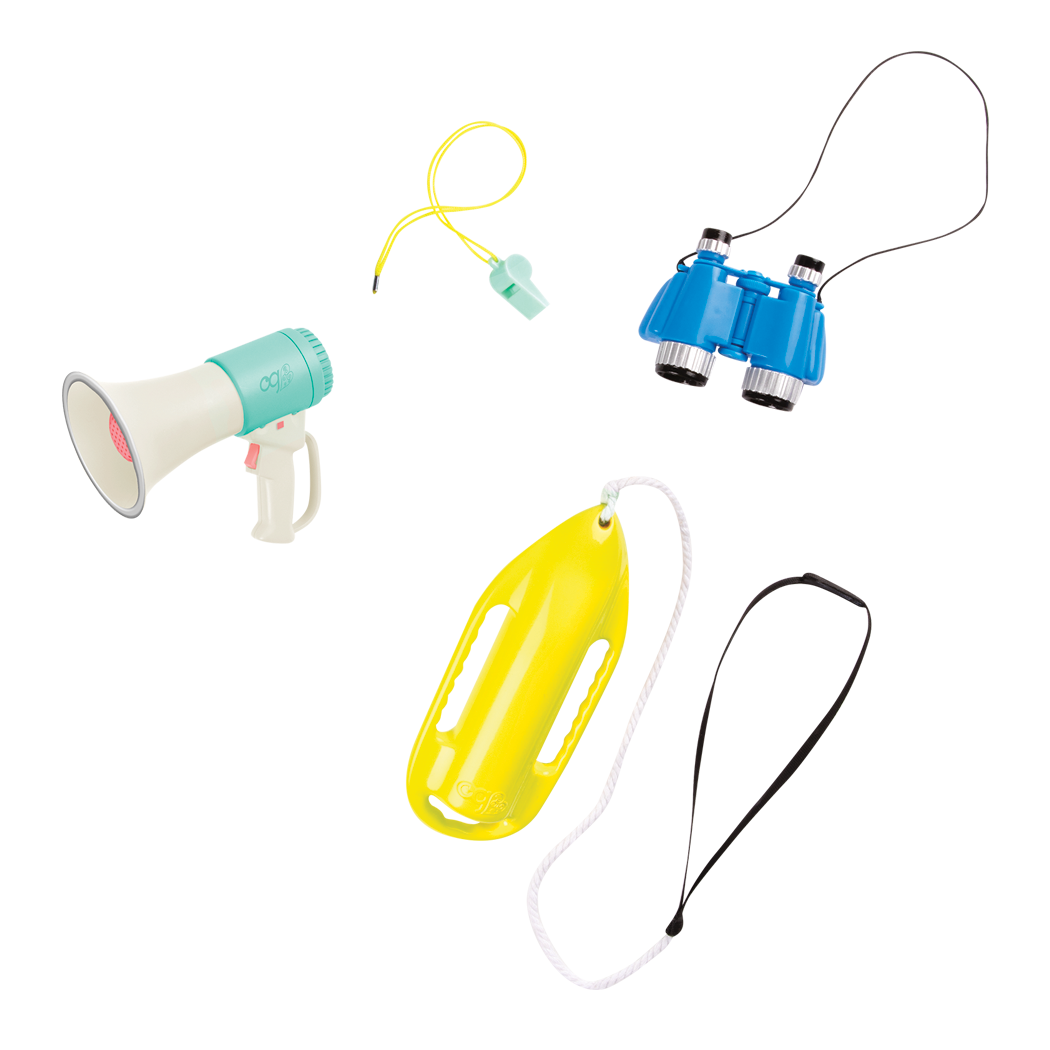 Detail of lifeguard accessories