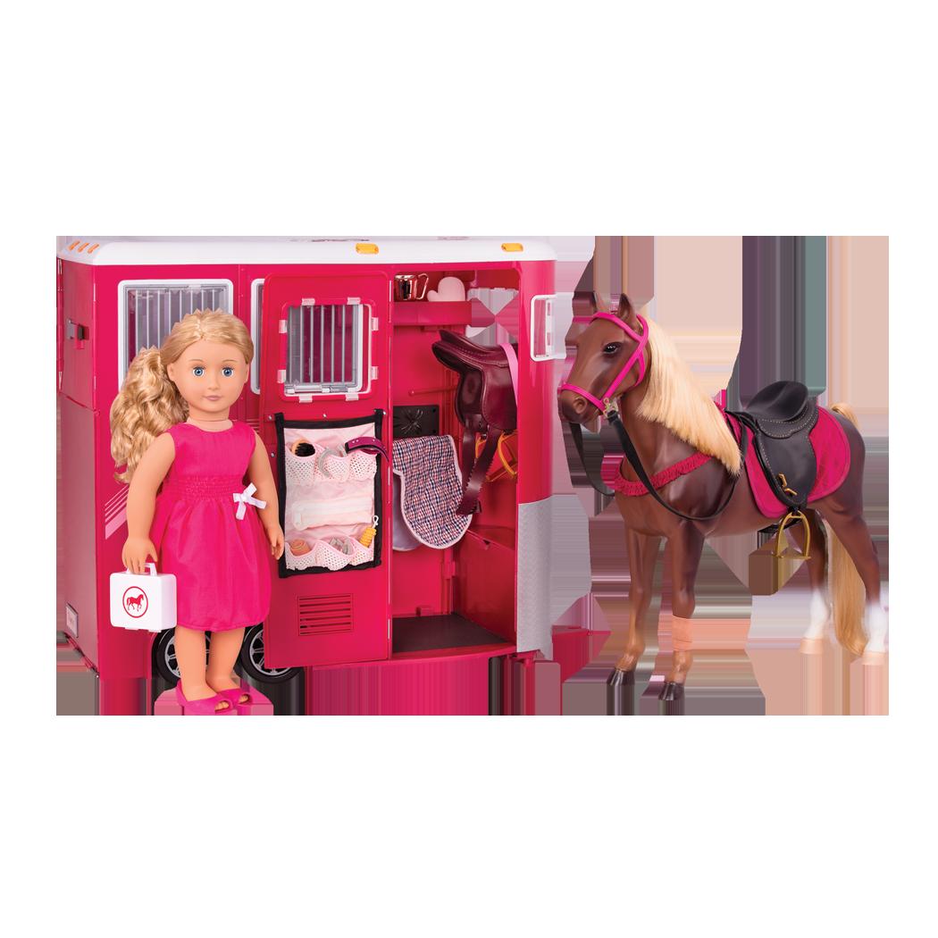 Lily Anna Dress Horse Trailer