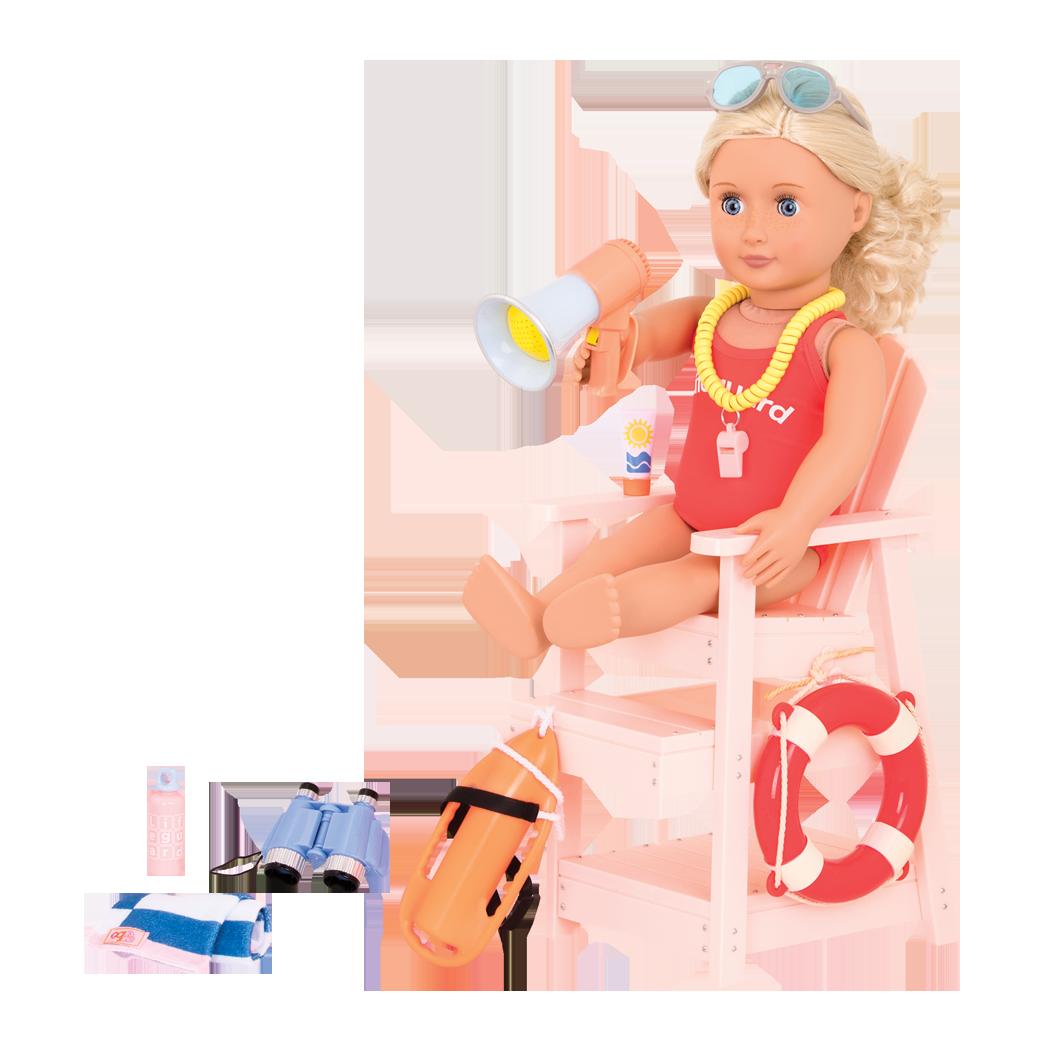 Clarissa in Lifeguard Playset