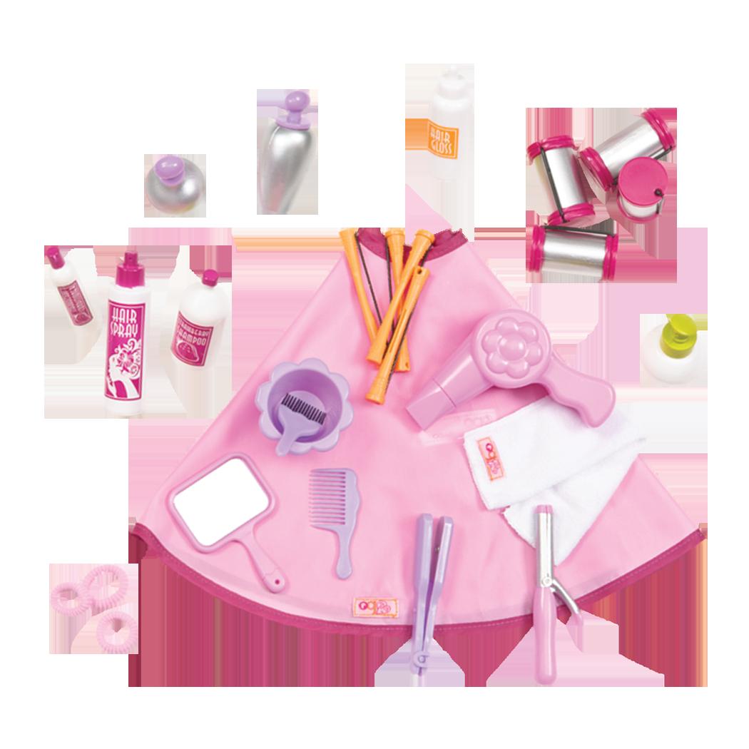 Berry Nice Salon Set accessories