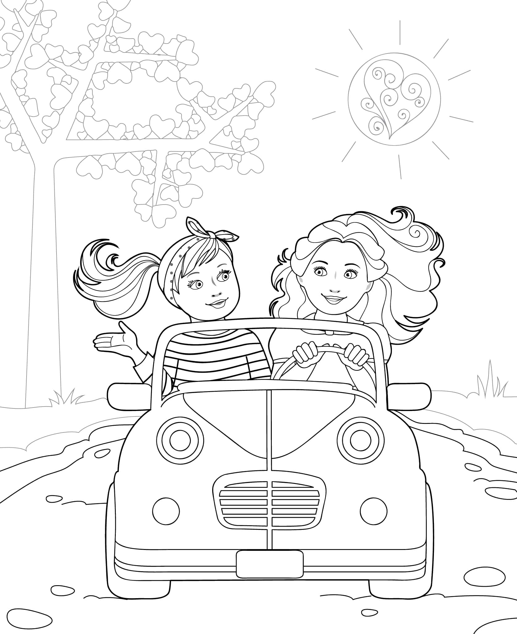 Doll Coloring Books Our Generation