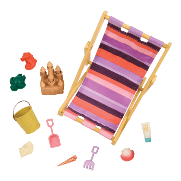 Day at the Beach Accessory Set for 18-inch Dolls