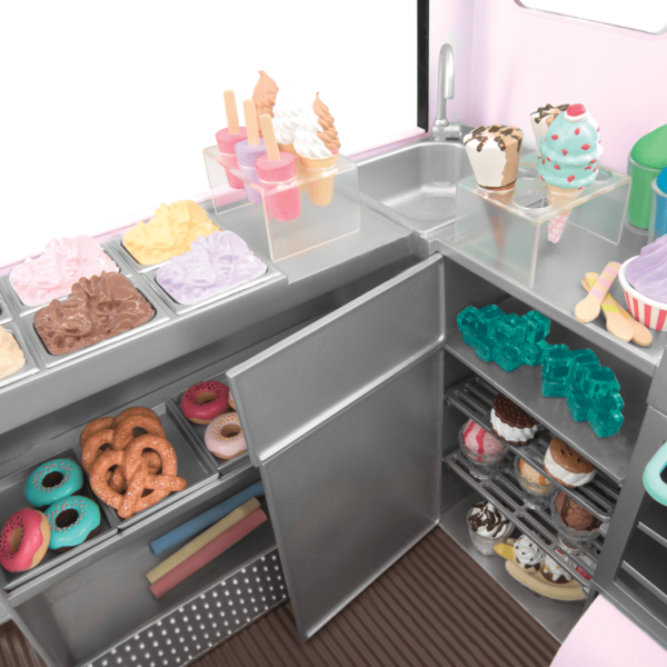Sweet Stop Ice Cream Truck Single
