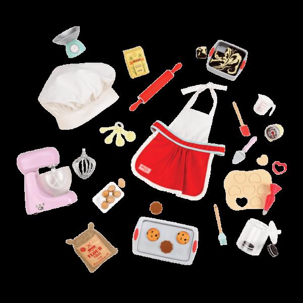 Master Baker Set for 18-inch Dolls