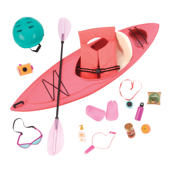 Kayak Adventure Set for 18-inch Dolls