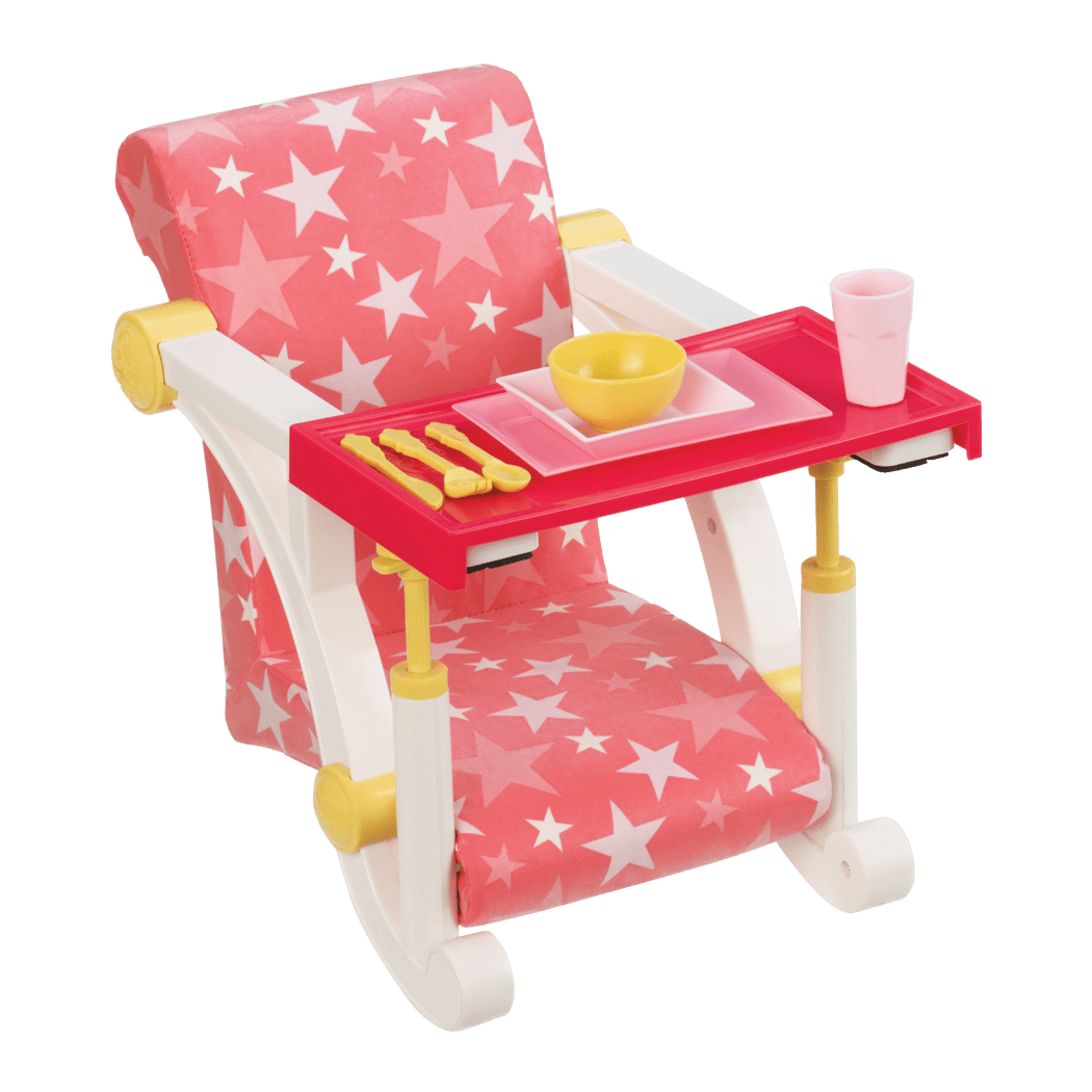 Let's Hang Clip-On Chair for 18-inch Dolls
