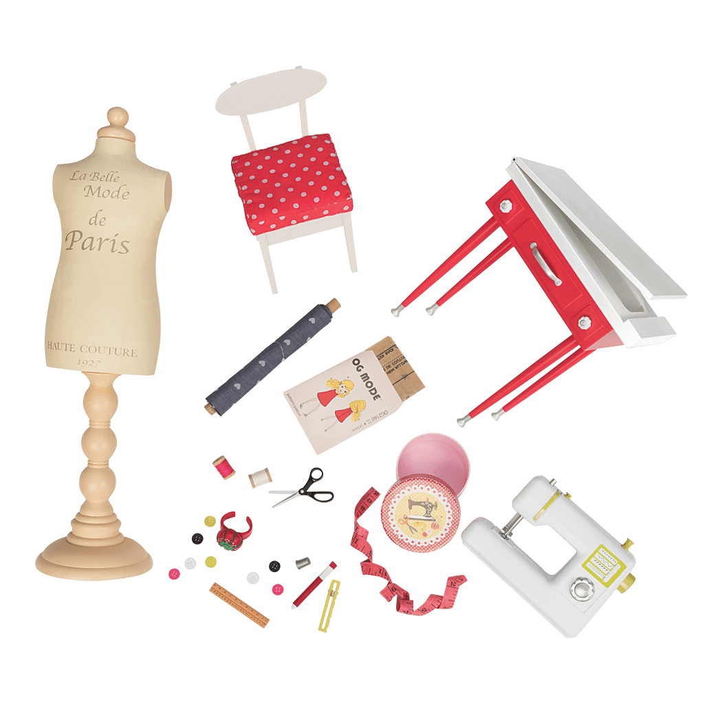 It Seams Perfect Sewing accessory set for 18-inch Dolls